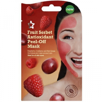 Superdrug Fruit Sorbet Peel Off Face Mask