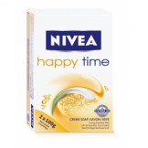 NIVEA Happy Time Creme Soap (2 Pack)