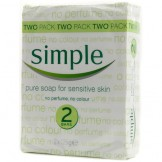 Simple Pure Bath Soap (2 pack)